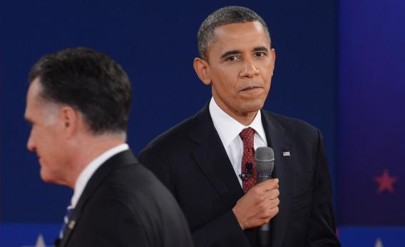 The candidates had their dukes up in the second presidential debate