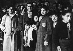 Picture taken in 1942 shows Jewish deportees. Click image to expand.