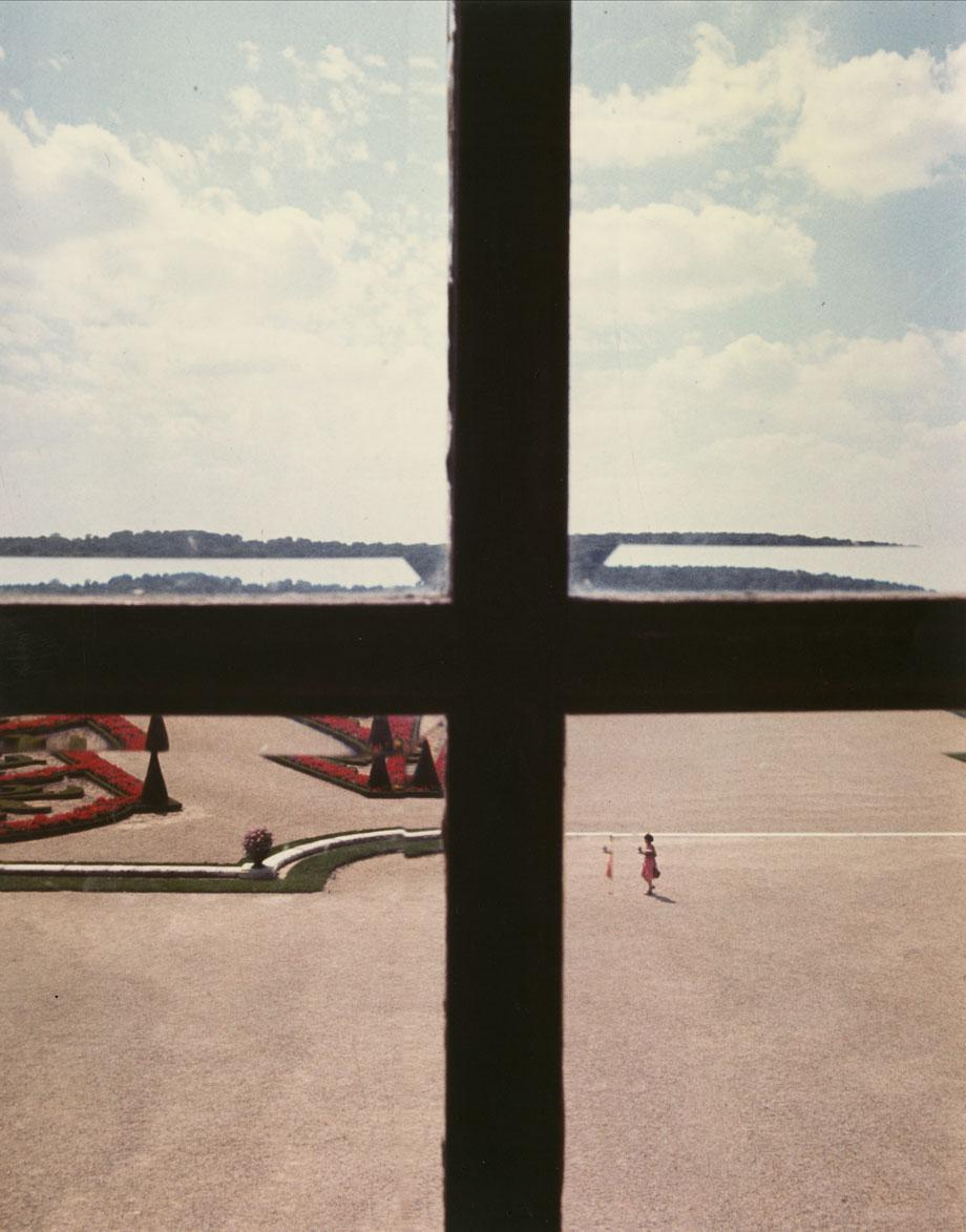 """Versailles, 1977, vintage cibachrome, from the series """"Kodachrome"""" and """"Vedute"""""""