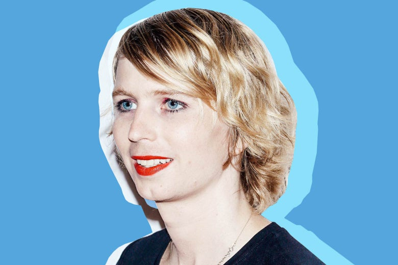 Chelsea Manning attends the Human Flow New York screening on Oct. 9 in New York City.