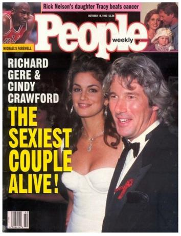 Richard Gere, Cindy Crawford Sexiest Couple Alive