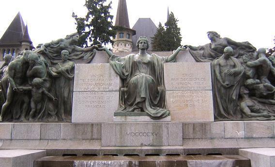 ITU monument, Bern.