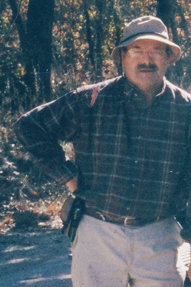 Dennis Rader on a camping trip.