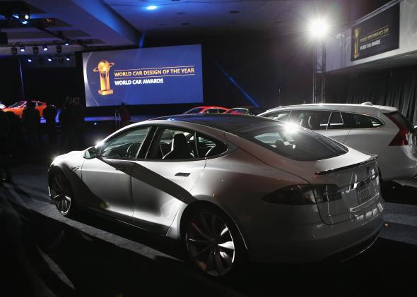 Tesla Model S awards