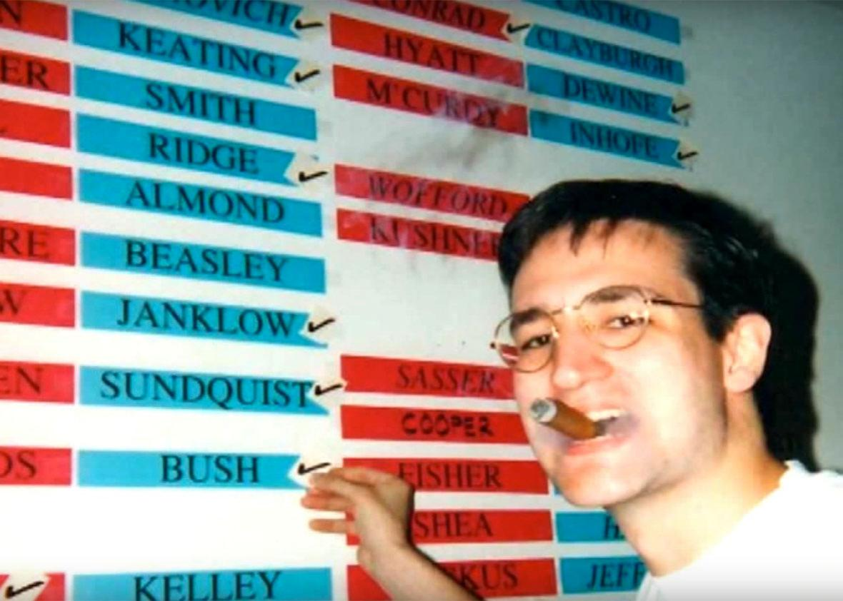 Ted Cruz in college.