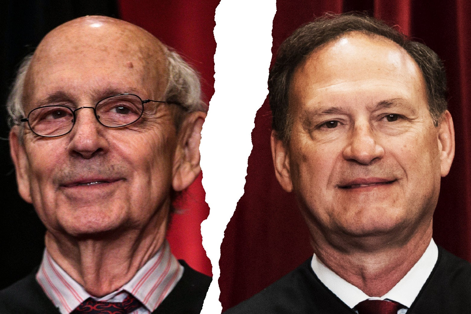 U.S. Supreme Court Associate Justice Stephen Breyer and Associate Justice Samuel Alito Jr.