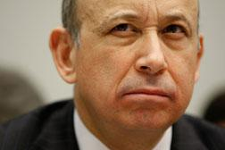 Goldman Sachs Chairman and CEO Lloyd Blankfein. Click image to expand.
