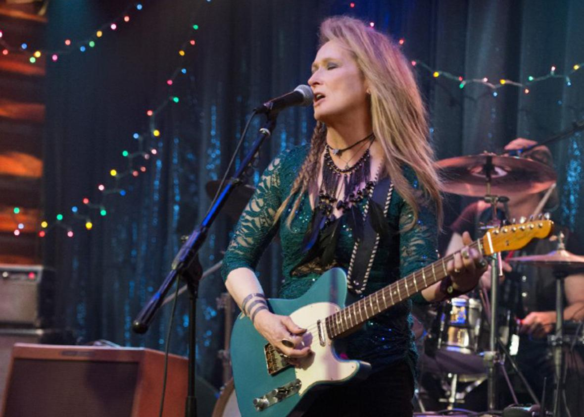 Still of Meryl Streep in Ricki and the Flash.