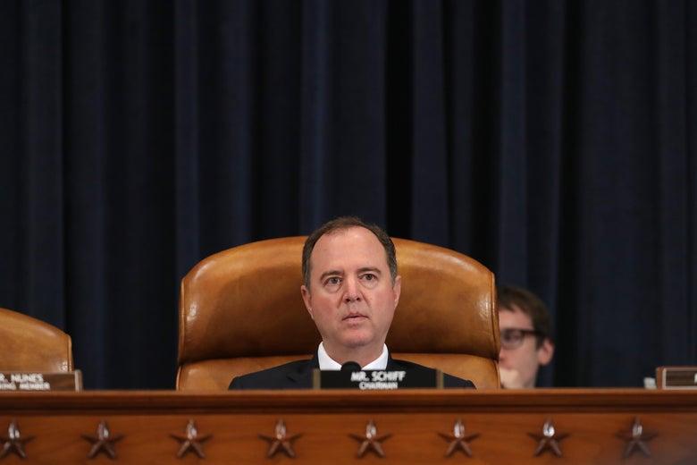 House Intelligence Committee Chairman Adam Schiff on June 13 in Washington.