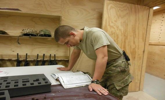 Army Sgt. Steffan McBee