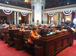 State assembly in session. Click image to expand.