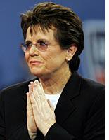 Billie Jean King. Click image to expand.