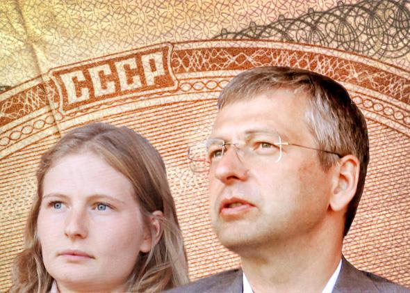 Dmitry Rybolovlev and his daughter Ekaterina Rybolovleva.
