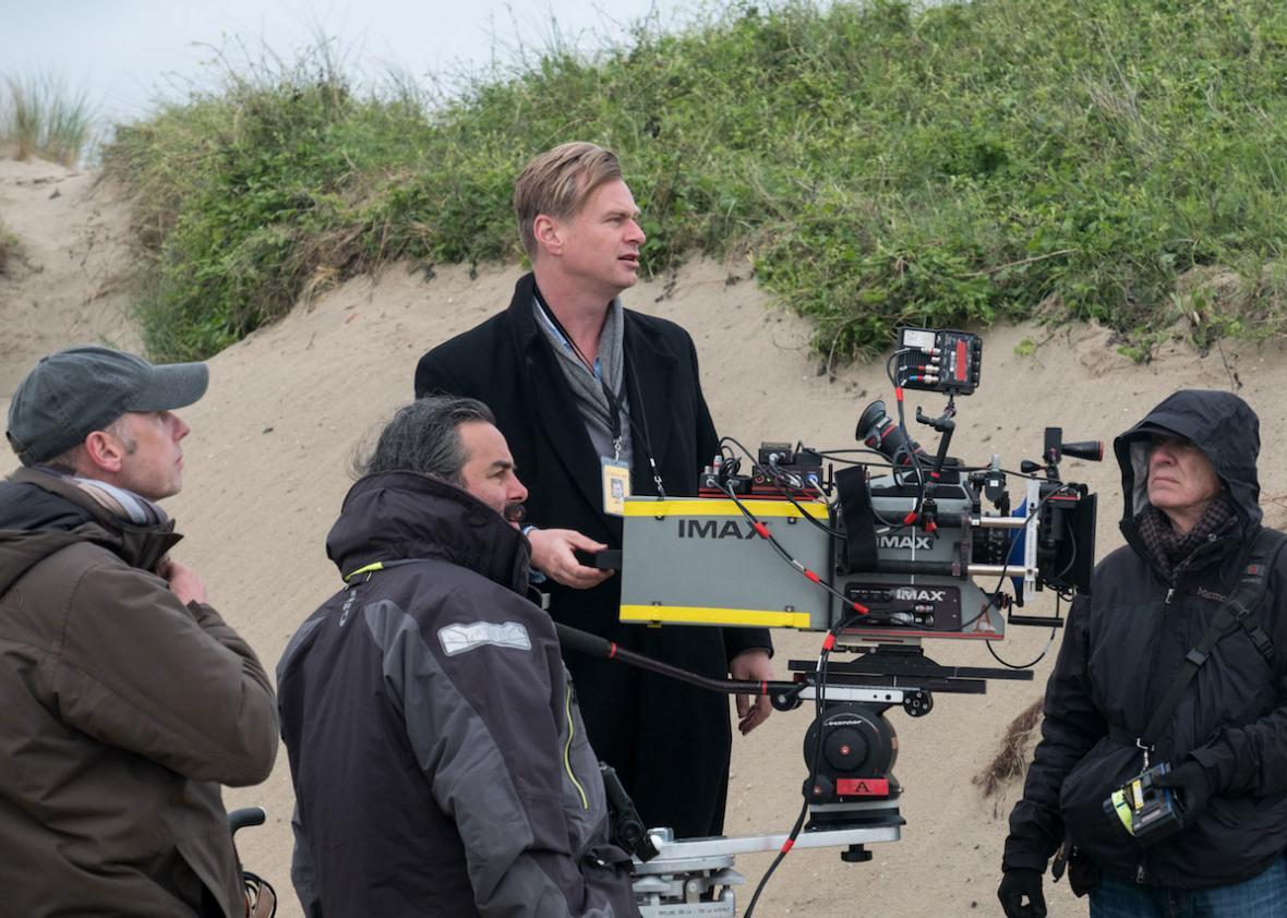 Dunkirk  director Christopher Nolan.