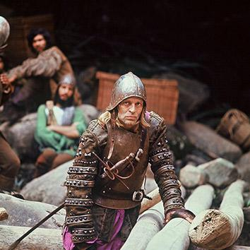 Klaus Kinski in Aguirre, the Wrath of God.