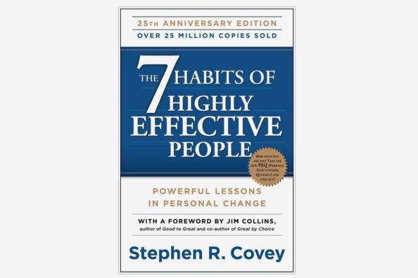 The 7 Habits of Highly Effective People: Powerful Lessons in Personal Change.