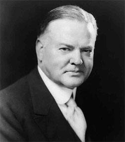 Herbert C. Hoover. Click image to expand.