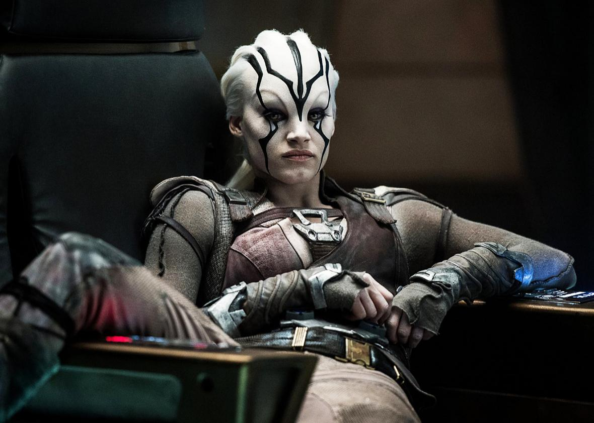 Sofia Boutella in Star Trek Beyond.