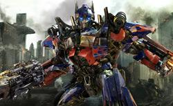 Optimus Prime in Transformers: Dark of the Moon. Click image to expand.