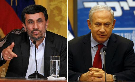 Mahmoud Ahmadinejad and Benjamin Netanyahu.