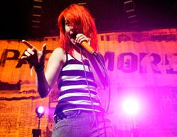 Hayley Williams of Paramore. Click image to expand.