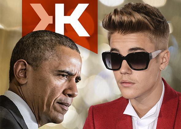 President Barack Obama, Justin Bieber