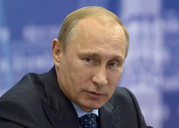 Russia's President Vladimir Putin.