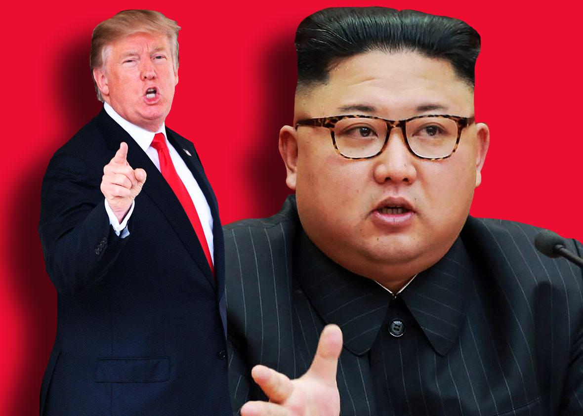 US President Donald Trump and North Korean leader Kim Jong-Un