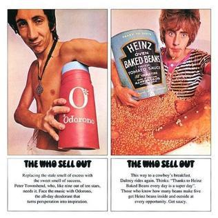 Roger Daltrey and Peter Townshend hawk deodorant and baked beans