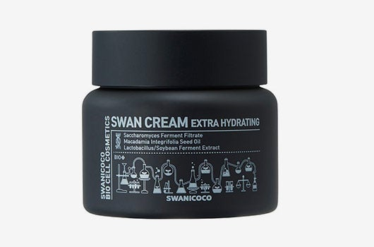 Container of Swanicoco cream.