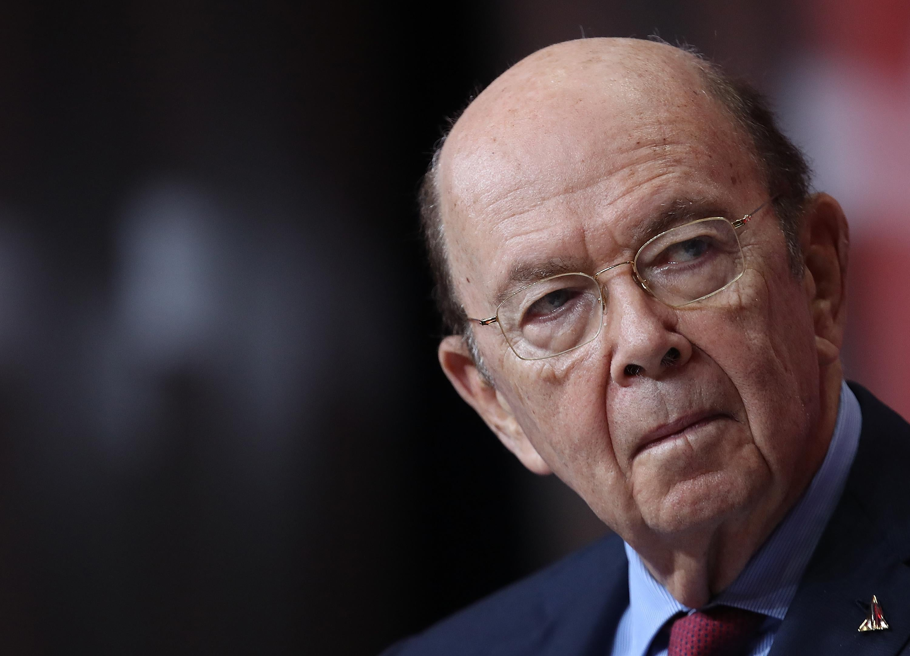 U.S. Secretary of Commerce Wilbur Ross speaks at the SelectUSA 2018 Investment Summit on June 22, 2018, in National Harbor, Maryland.
