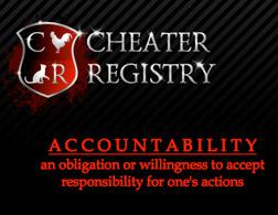 Cheater Registry. Click image to expand.