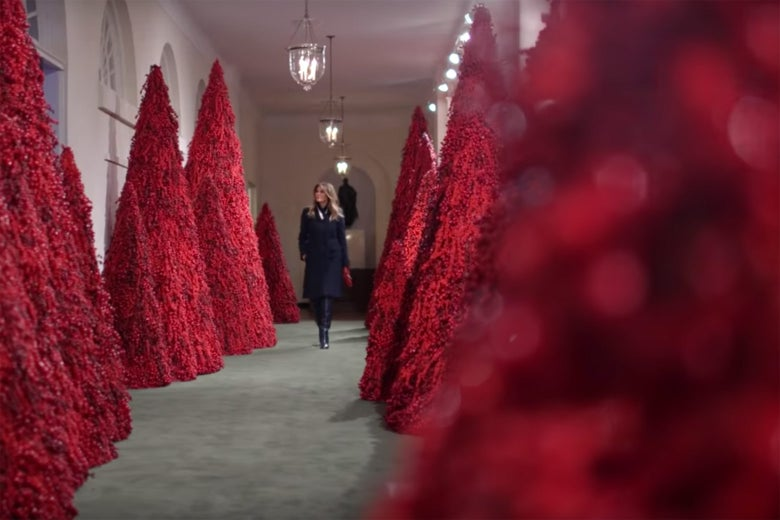 Whitehouse Christmas Decorations.Melania Trump S 2018 White House Christmas Decorations