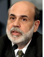 Federal Reserve Board Chairman Ben Bernanke. Click image to expand.