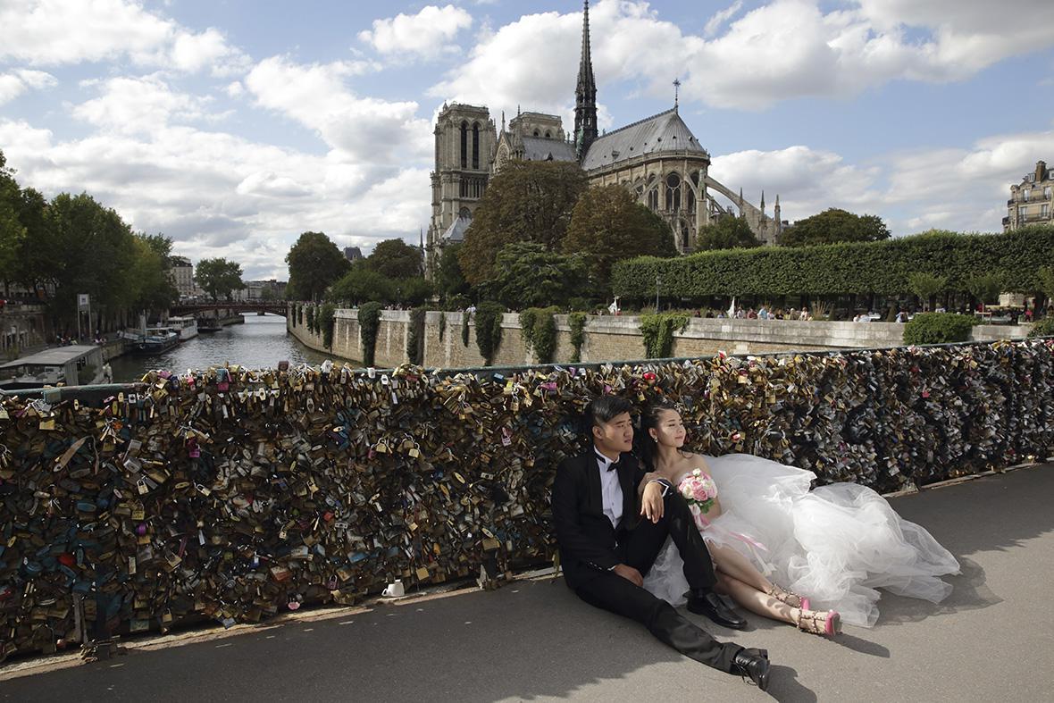 FRANCE-CHINA/WEDDING