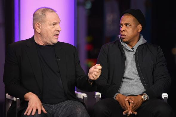 Harvey Weinstein and Jay-Z