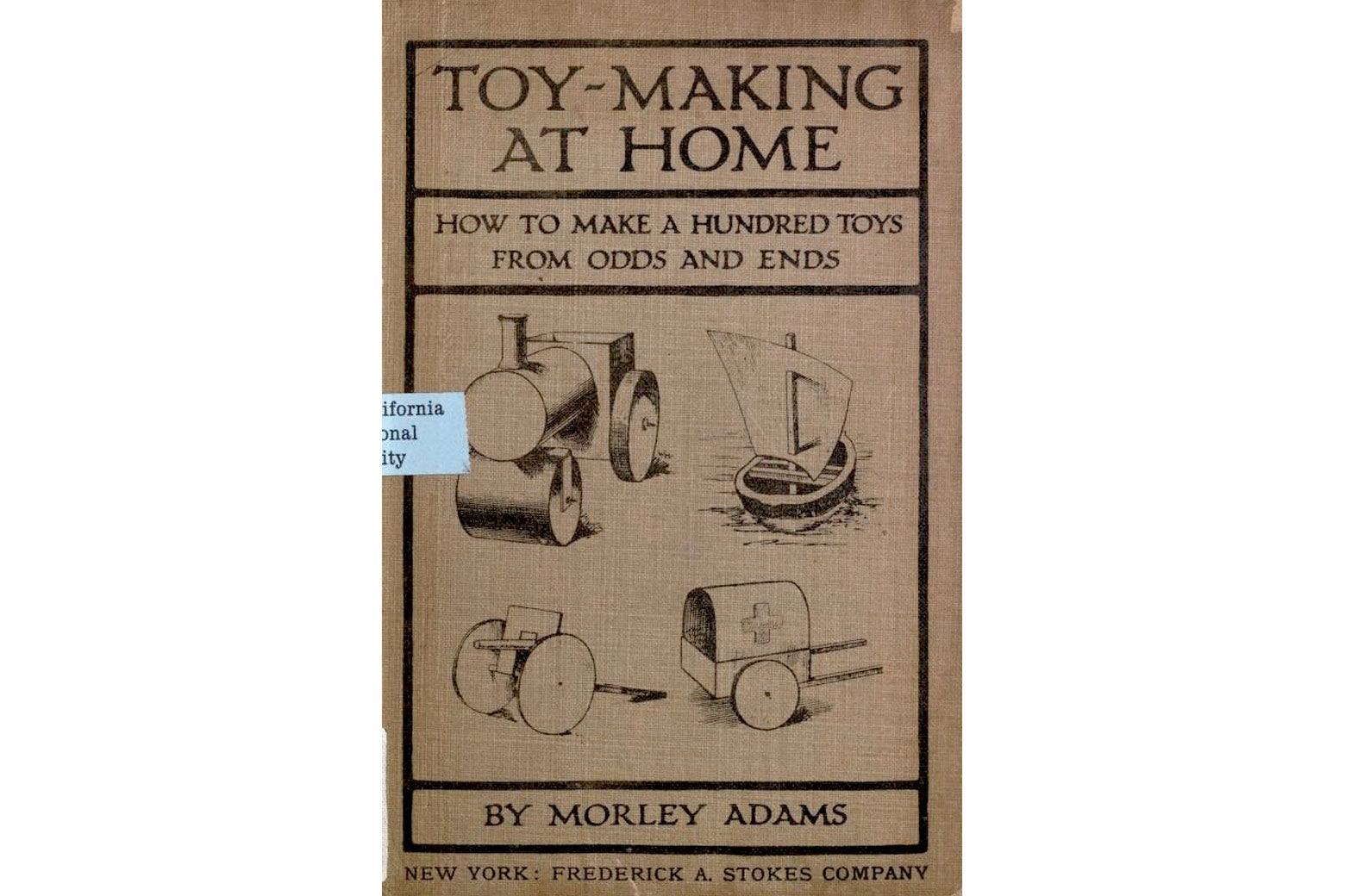 Toy-Making at Home cover