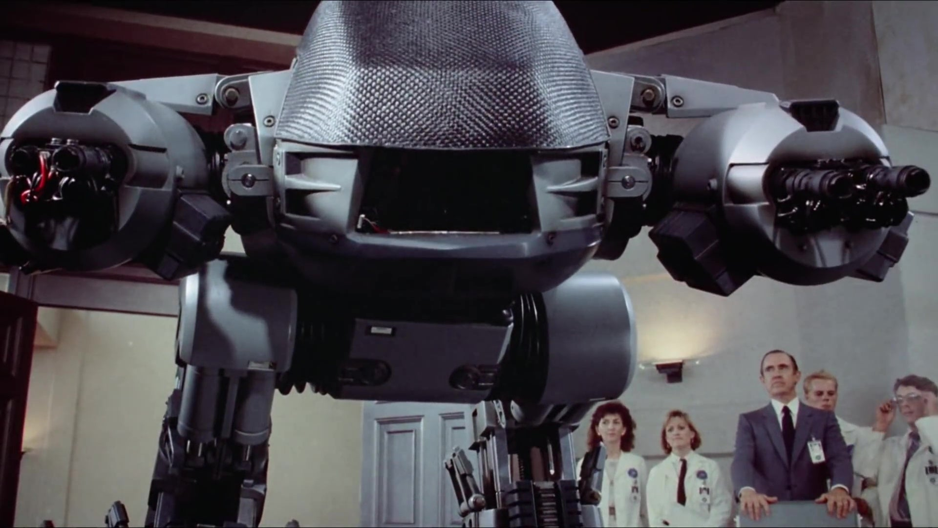 ED-209, a killer robot from the original RoboCop film.
