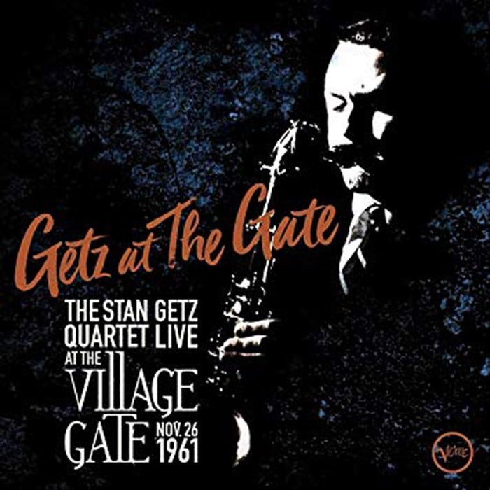 Getz at the Gate album cover.