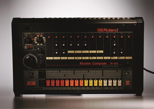 A Roland TR-808