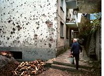 The the war-damaged city of Srebrenica, Bosnia. Click image to expand.