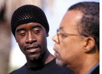 "Don Cheadle and ""Skip"" (the hard questions) Gates"