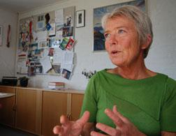 Bodil Karlshøj Poulsen, director of Paarisa, Greenland's public-health center. Click image to expand.