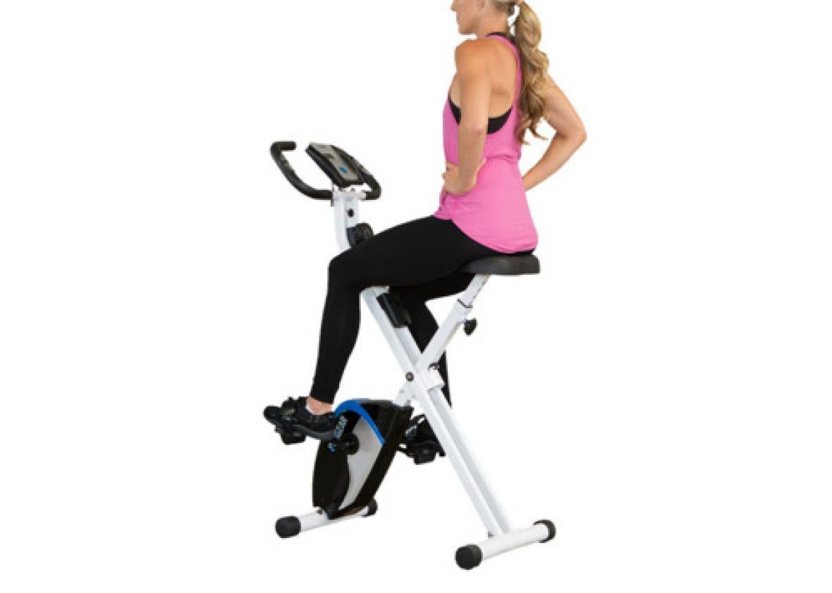 Comfortable Seat Cushion Ultra-Quiet Bicycle Cardio Fitness with Monitor and Flywheel Bike Ximandi Indoor Cycling Exercise Stationary Bike Ship from US