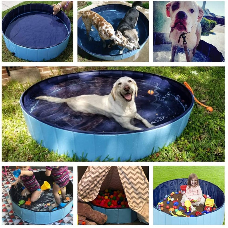 Jasonwell Foldable Dog Pool, XXL