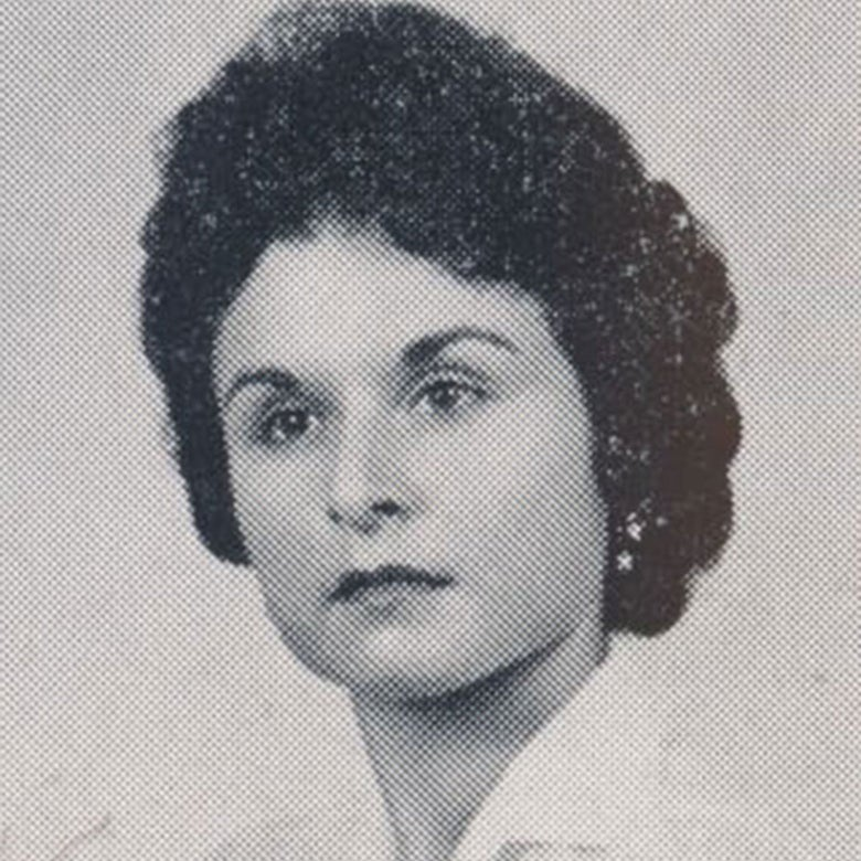 Yearbook photo of Marilyn G. Rose.