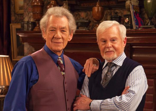 Ian McKellen and Derek Jacobi in Vicious.