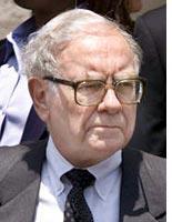 Prognosticator Warren Buffett
