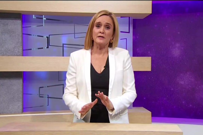 Samantha Bee on Full Frontal with Samantha Bee.