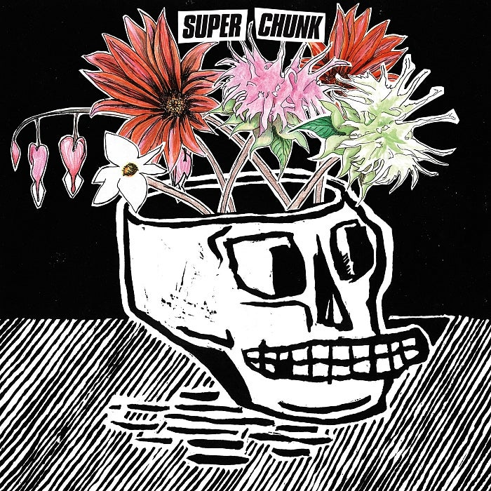 The cover for Superchunk's What A Time To Be Alive.
